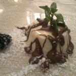 pudding coconut and nutella