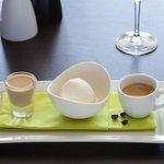 Affogato - from the delicious coffee menu.