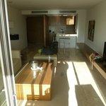 Suite - Living Room/Kitchen