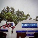 Mini-restaurante da parte da Grécia