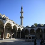Istanbul - Il cortile della moschea di Solimano