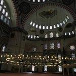 Istanbul - Interno Moschea di Solimano