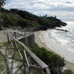 Private beach at Pompano