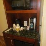 fridge/micro/coffee in room