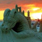 Siesta Key Beach Sculptures.