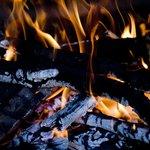il fuoco della grigliata