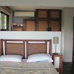 dormitorio y cocina
