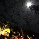 Full moon kayak party