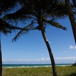 Вид с веранды отеля на океан