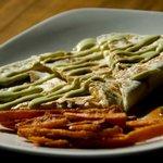 Lena Kid's Quesadilla with sweet potato fries