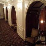 Level 2 ballroom lobby hallway