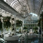 The Conservatory - used for reception and business display area