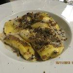 beautiful truffle/tartufo pasta