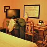 Room 114 - pardon the laundry!