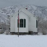 Clear Creek History Park schoolhouse view