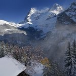 Eiger and Monch from Murren