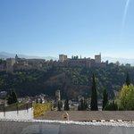 Vue de l'Alhambra de l'Albaycin