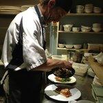 Head chef Richard Birch