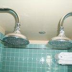 Un baño de dos plazas, la ducha se hace inolvidable