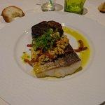 Plat de poisson au chorizo (désolée je ne me rappelle plus l'intitulé du plat....)