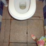 Toilets near Bar Area!