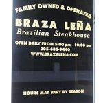 Photo de Braza Lena Brazilian Steakhouse