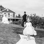 A wedding at By the Bay - the sweet flower girl