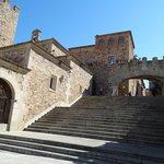 Treppe zum Sternentor, rechts vom Turm