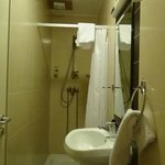 single room bathroom - breathe in!