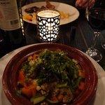 Lovely Moroccan vegetable tagine