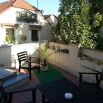 Our lovely terrace