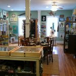 We offer NC Artists and classes in pottery, art, beach combing, jewelry and more.