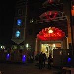Outside, Sun Hotel, Agra, 29 Dec 2013