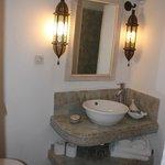 Small but adequate bathroom