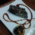 Torta cioccolato e crema di caffe,bigne