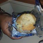 Moldy muffin. Yuck!