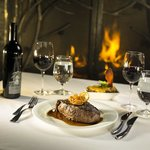 Rustica Steakhouse at Silvertip Golf Resort