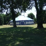 air conditioned circus tent
