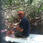 In the Mangrove tunnel