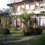 Maison principale, avec vue sur les rizières!