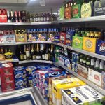 Large selection of fine wine & ice cold beer
