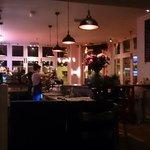 Inside the cafe/restaurant
