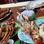 Baked lobster in lae lae restaurant