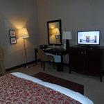 Spacious suite bedroom