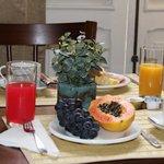 Café da manhã...muito bom !