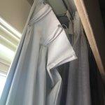 Falling apart Curtains