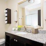 Vanity for a standard room