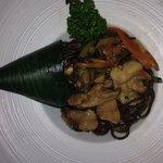 Noodles di grano saraceno con verdure e pollo... Amazing!! ������