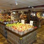 Apples in Milburns Remodeled market