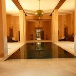 Indoor pool at Spa